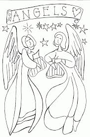 angel coloring pages ppinews co
