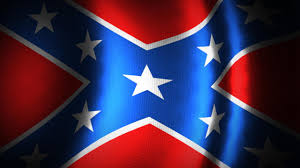Giant Confederate Flag Supporters Raised Giant Confederate Flag In Danville
