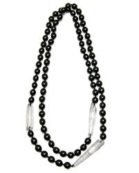 rock crystal necklace jewelry images Monies kamagong bead and mountain rock crystal necklace jpg