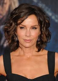 curly bob hairstyles for over 50 jennifer grey short brown curly bob hairstyle for women over 50