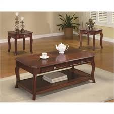 coaster company satin nickel coffee table coffee table sets cymax stores