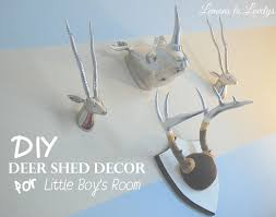 diy painted deer shed decor u2013 lemons to lovelys