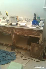 4 Ft Bathroom Vanity by The Evolution Of A Master Bathroom Makeover Join The 30 Day