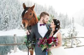 50 stunning winter wedding photos bridalguide