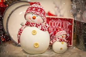 free photo snowman red christmas winter free image on