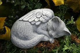 cat memorial cat angel statue pet memorial