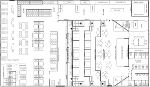 interior restaurant floor plan with bar with regard to glorious