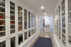 Shoe Closet With Doors Lacquered Glass Wardrobes Closet Traditional With Jewelry Cabinet