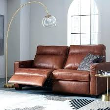 Leather Sofas Sale Uk Attractive Recliner Leather Sofa Curved Reclining Ottoman Plover