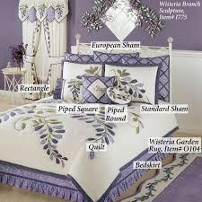 Wisteria Rugs Wisteria Garden Quilt Bedding