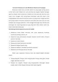 contoh laporan wawancara pedagang bakso instrument wawancara tv dan melakukan wawancara di lapangan 1 638 jpg cb 1385257376