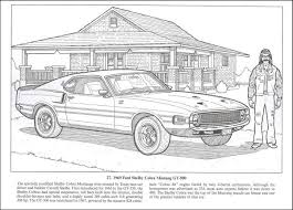 american muscle cars coloring book 013455 details rainbow