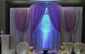 wedding backdrop blue blue wedding decorations hot design wedding backdrop curtain