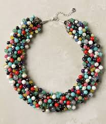 making beaded necklace images How to make a beaded necklace clipart jpg