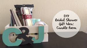 bridal shower gift baskets how to make a candle poem basket for a bridal shower gift