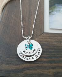 Custom Personalized Jewelry Best 25 Necklace With Kids Names Ideas On Pinterest