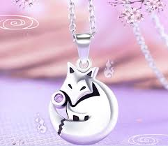 necklace pendant gift box images Anime kamisama love kamisama kiss fox pendant necklace 925 silver jpg