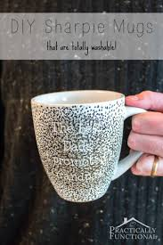 how to make a diy sharpie mug that u0027s washable vinyls crafts