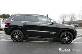 Jeep Grand Cherokee With 22in Lexani Polaris Wheels Exclusively
