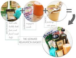 Relaxation Gift Basket Relaxation Kit For Mom Somewhat Simple