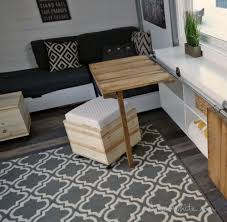 Ana White Storage Sofa by Ana White Wood Storage Stools Diy Projects
