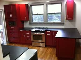 cardinal red kitchen cabinets