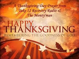 thanksgiving day prayer service