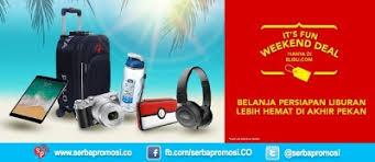 blibli weekend blibli promo fun weekend deal diskon hingga 50 ecommerce