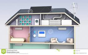 smart house with energy efficient appliances stock video video