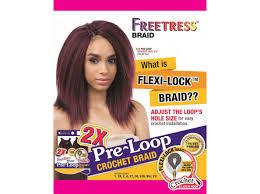 pre braided crochet hair freetress braid 2x pre loop crochet yaky 10 inch