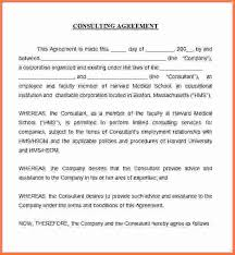 hr contract template simple consulting agreement independent