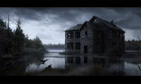 scary halloween desktop background haunted house wallpapers top hd haunted house images bpv hd quality