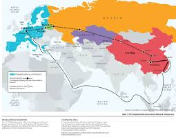 Map Of China And India by China And Europe Reconnecting Across A New Silk Road The