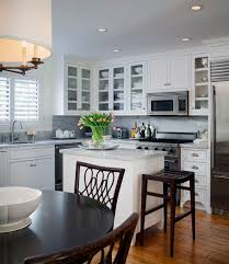 can cabinets work in a small kitchen how to make an island work in a small kitchen