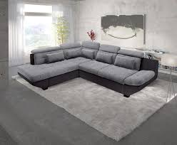 canapé d angle noir et gris canapé d angle eternity noir gris sb meubles discount