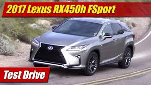 lexus sport plus 2017 price 2017 lexus rx450h f sport test drive youtube