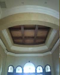 wood beams in flat round ceiling recess ceilings pinterest