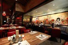 Chinese Restaurant Kitchen Design by Japanese Restaurant Interior Design With Red Sofa On Japanese