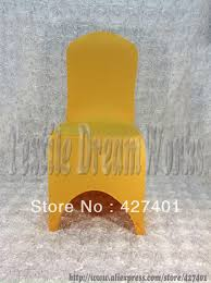 Gold Spandex Chair Covers Compare Prices On Cover Chair Gold Online Shopping Buy Low Price