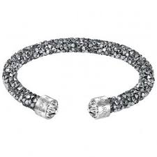 swarovski bracelet price images Swarovski crystaldust cuff gray 5250071 medium duty free jpg