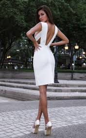white bodycon dress all white criss cross bandage bodycon dress the kewl shop