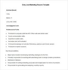 Free Marketing Resume Templates Marketing Resume Template 37 Free Sles Exles Format
