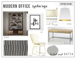 Glam Home Furniture How To Create A Neutral But Glam Home Office Postbox Designs
