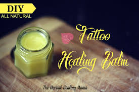 tattoo balm u2013 diy all natural healing u2013 the herbal healing mama