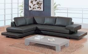 gl 2 piece sectional brown leather match sectionals