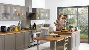 deco cuisine grise et cuisine grise et bois galerie et beau cuisine grise et bois