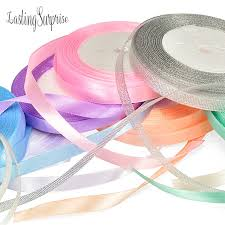 silk satin ribbon 1cm 25 yard 22m silk satin ribbon christmas new year gifts party