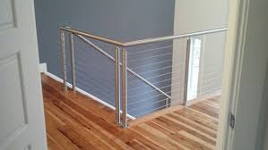 Cable Banister Affordable Railings Maryland Architectural Cable Rails Md Va