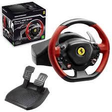 xbox one racing wheel thrustmaster 458 spider racing wheel for xbox one tm