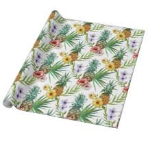 tropical wrapping paper tropical wrapping paper zazzle